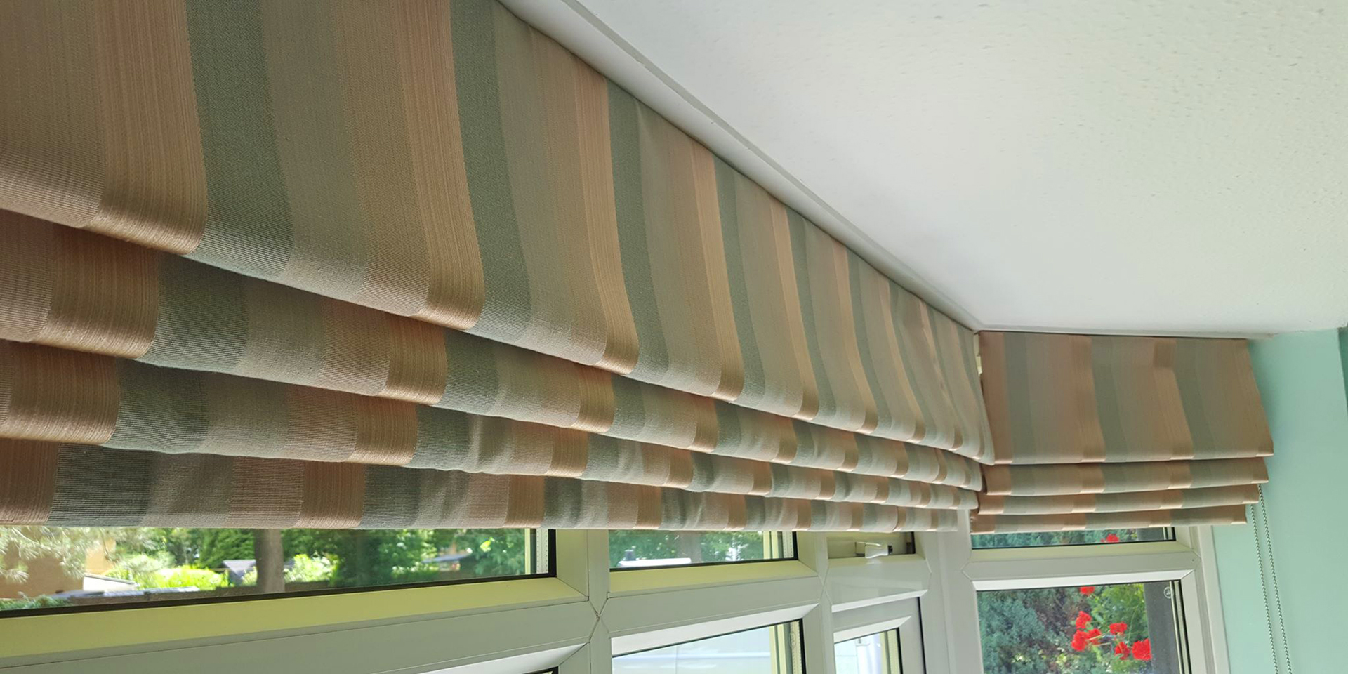 Roman Pleated Blinds