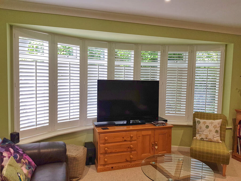 High Quality Real Wood Shutters
